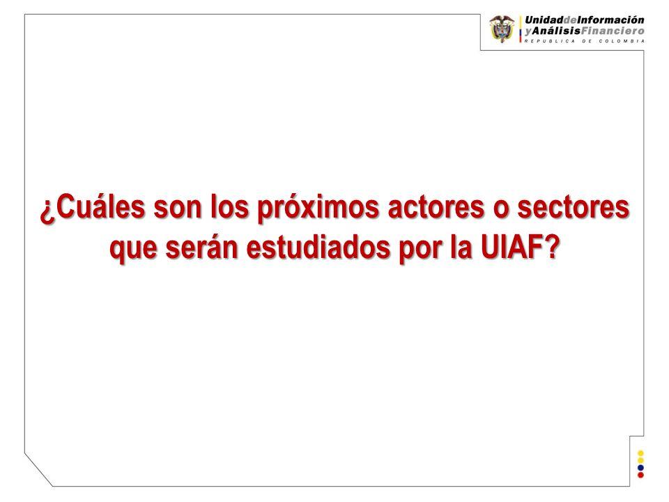 Unidad de Información y Análisis Financiero República de Colombia ¿Para donde vamos.