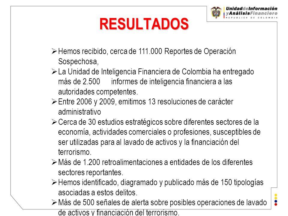 Unidad de Información y Análisis Financiero República de Colombia Contáctenos: T: + 57 (1) 288 5222 F: + 57 (1) 288 2433 C: uiaf@uiaf.gov.co GRACIAS Más información www.uiaf.gov.co
