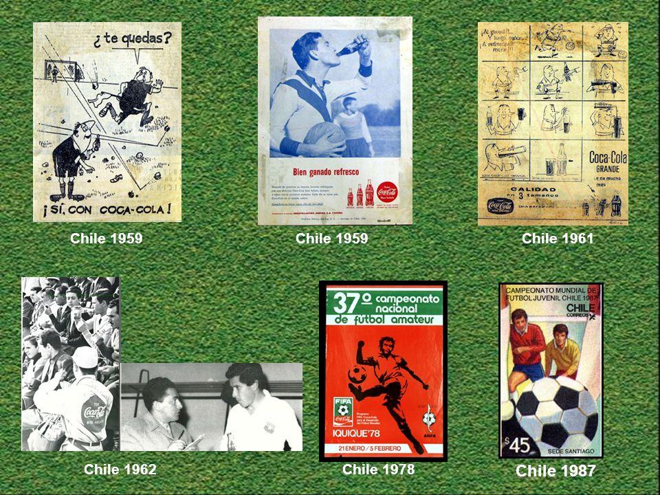 Chile 1961Chile 1959 Chile 1978Chile 1962 Chile 1987