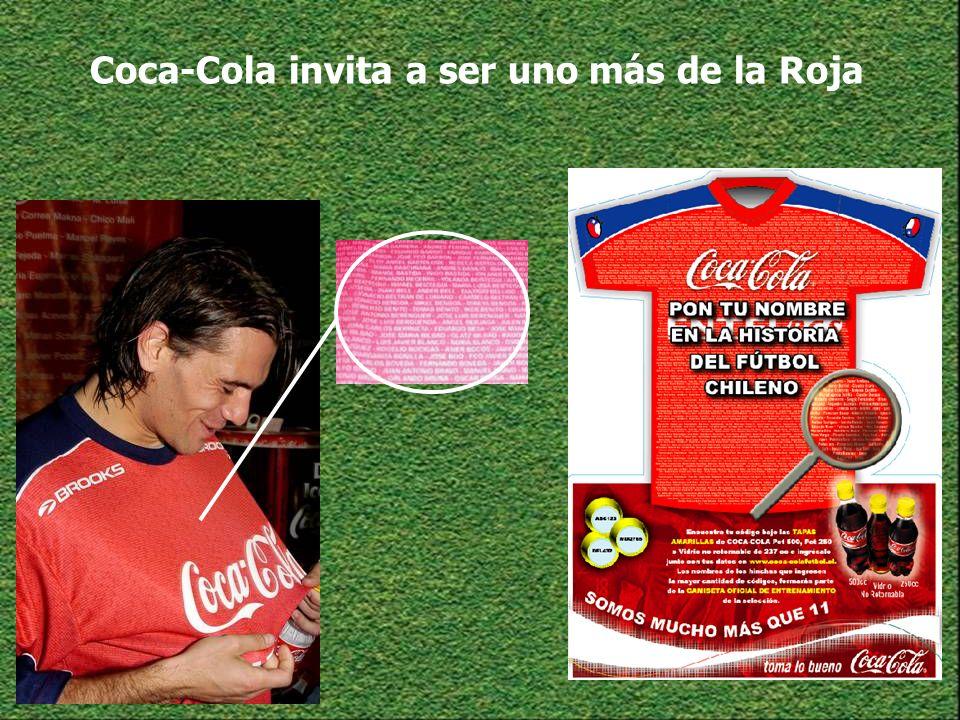 Coca-Cola invita a ser uno más de la Roja