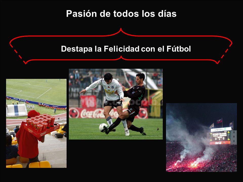 Pasión de todos los días Destapa la Felicidad con el Fútbol