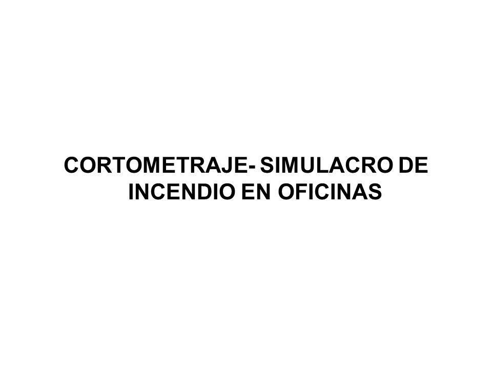 CORTOMETRAJE- SIMULACRO DE INCENDIO EN OFICINAS