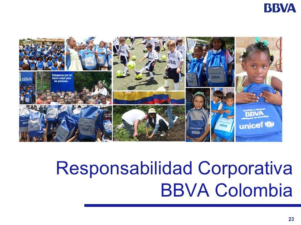 23 Responsabilidad Corporativa BBVA Colombia