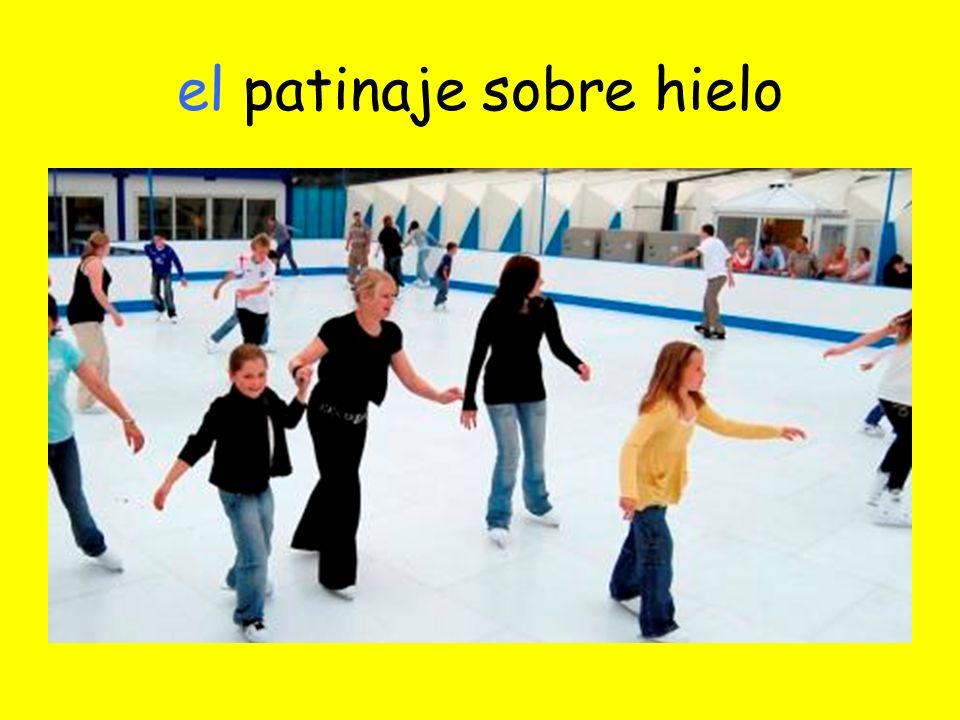 el patinaje sobre hielo