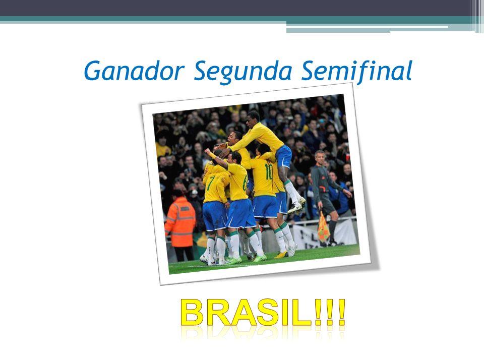 Ganador Segunda Semifinal
