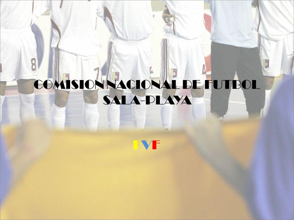 COMISION NACIONAL DE FUTBOL SALA-PLAYA FVFFVF