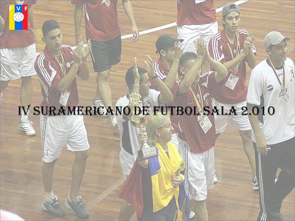 IV SURAMERICANO DE FUTBOL SALA 2.010