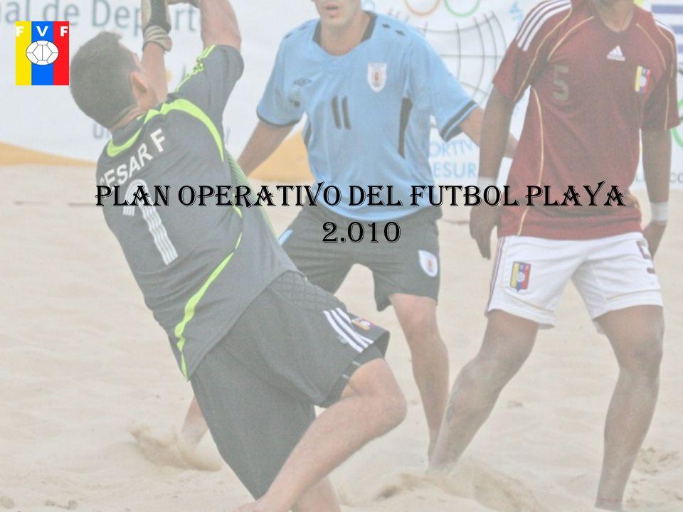 Plan operativo del futbol playa 2.010