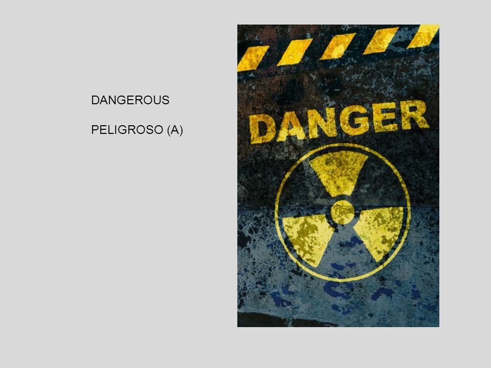 DANGEROUS PELIGROSO (A)