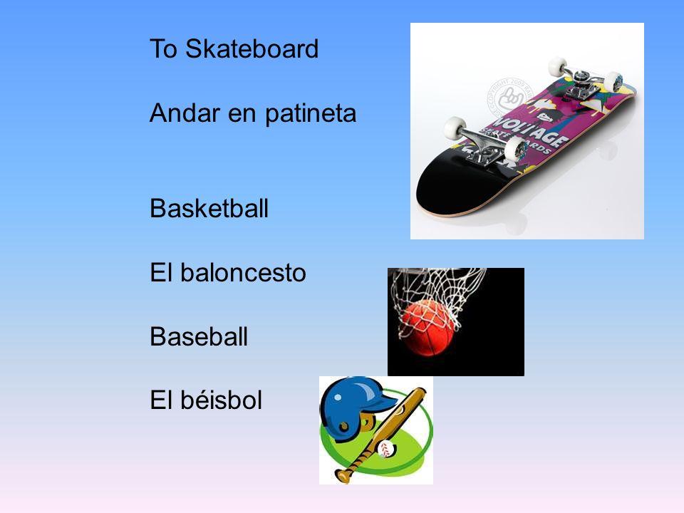 To Ski Esquiar Soccer El Fútbol Football El Fútbol americano