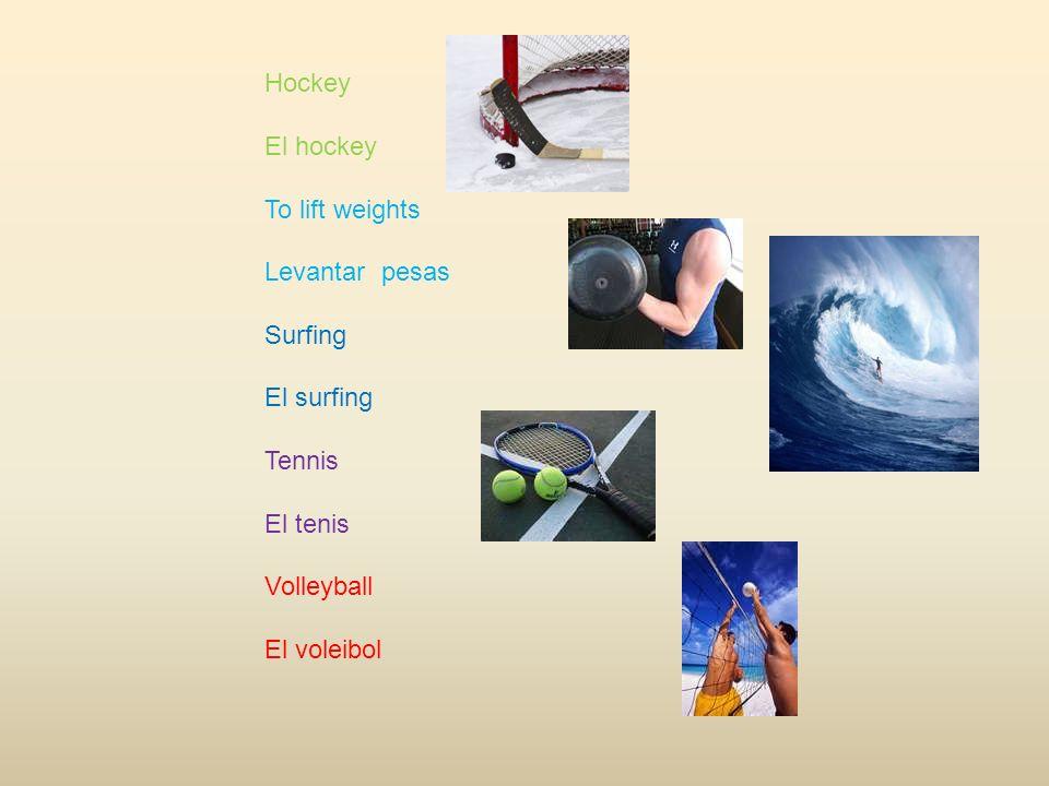 Bat El Bate Ball La Bola Helmet el casco Glove el guante Baseball Cap la gorra Baseball la pelota
