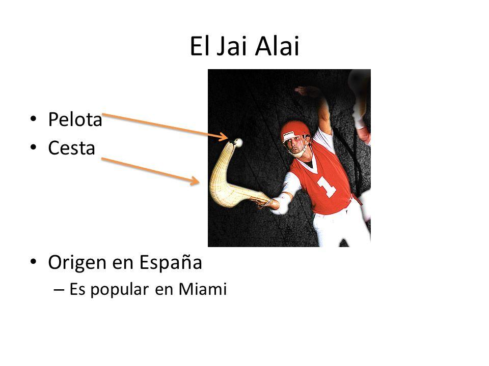 El Jai Alai Pelota Cesta Origen en España – Es popular en Miami