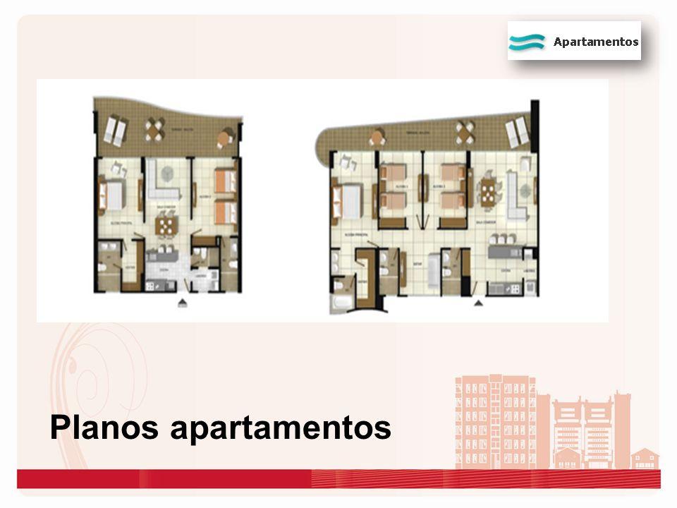 Planos apartamentos