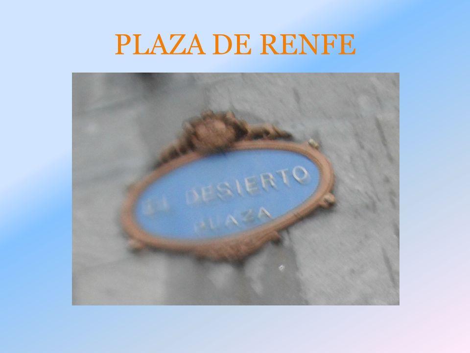 PLAZA DE RENFE
