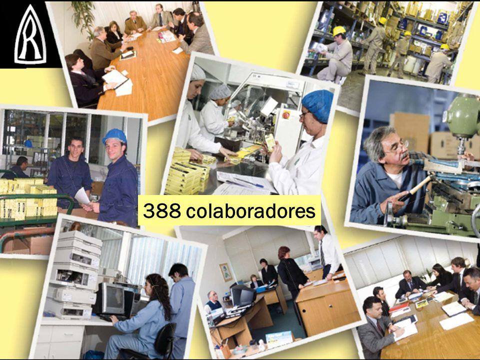 388 colaboradores