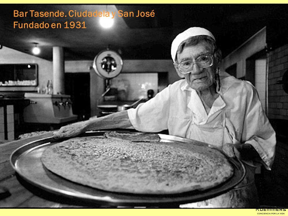 Bar Tasende. Ciudadela y San José Fundado en 1931