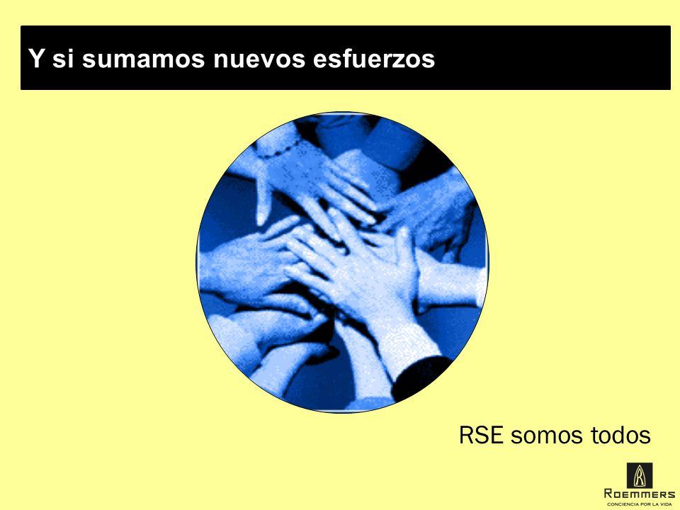 Y si sumamos nuevos esfuerzos RSE somos todos