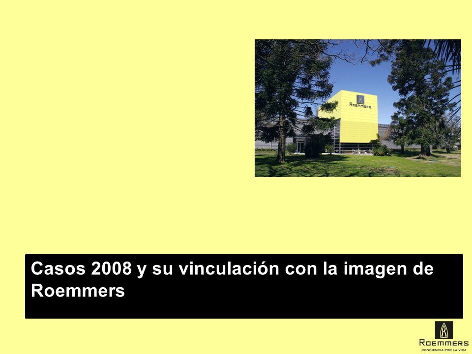 Casos 2008 y su vinculación con la imagen de Roemmers