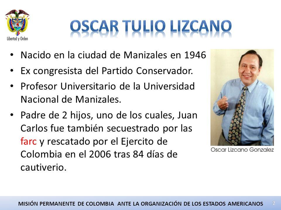 Nacido en la ciudad de Manizales en 1946 Ex congresista del Partido Conservador.