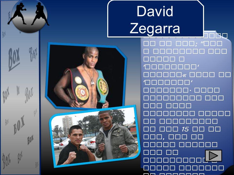 Ganó en su regreso a los cuadril á teros.Venció al peruano Frank Paredes en ocho rounds.