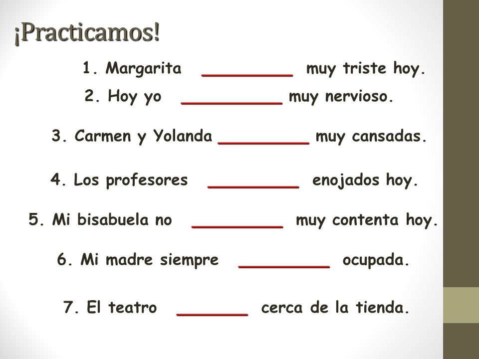 Create your own sentences!.