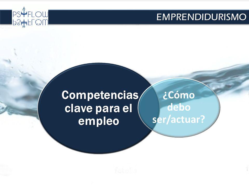 Competencias clave para el empleo Competencias clave para el empleo ¿Cómo debo ser/actuar? EMPRENDIDURISMOEMPRENDIDURISMO