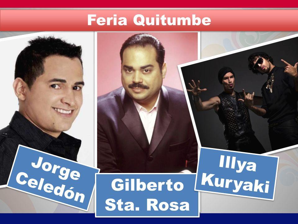 Jorge Celedón Gilberto Sta. Rosa Illya Kuryaki