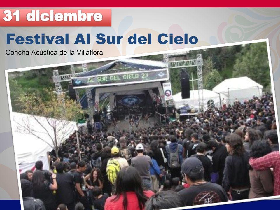 Festival Al Sur del Cielo Concha Acústica de la Villaflora