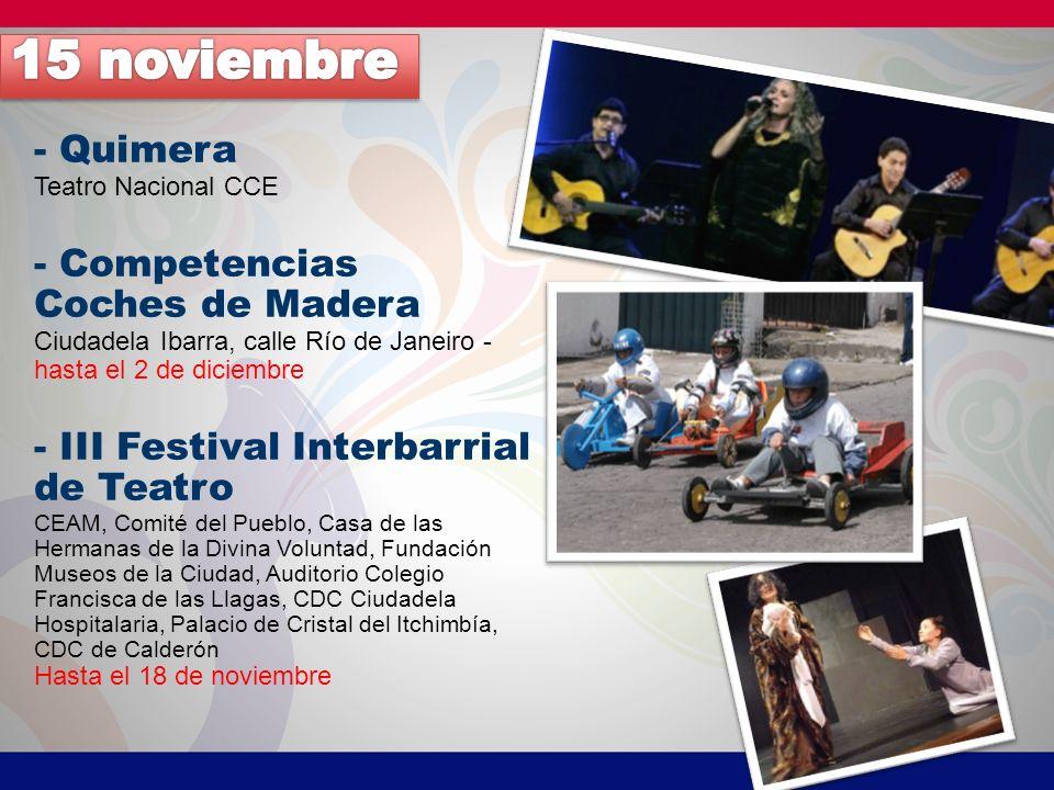 - Convite de San Roque - Festival Muestra tu Esencia Mujer Rockera Teatro Benalcázar