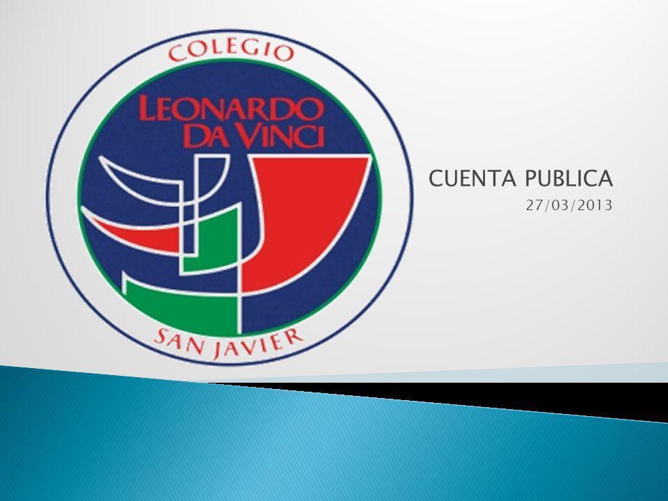 CUENTA PUBLICA 27/03/2013