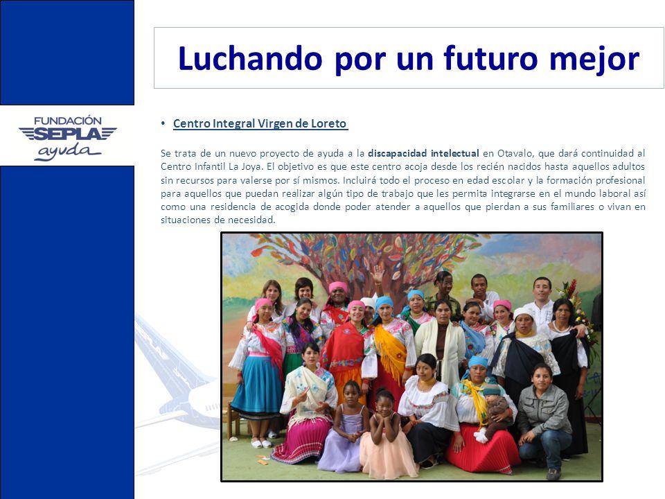 Luchando por un futuro mejor Colegio Nueva Vida, Guatemala El Colegio Nueva Vida tiene 220 alumnos distribuidos en diferentes aulas y está dirigido por misioneras Dominicas del Rosario, en colaboración con profesoras locales.