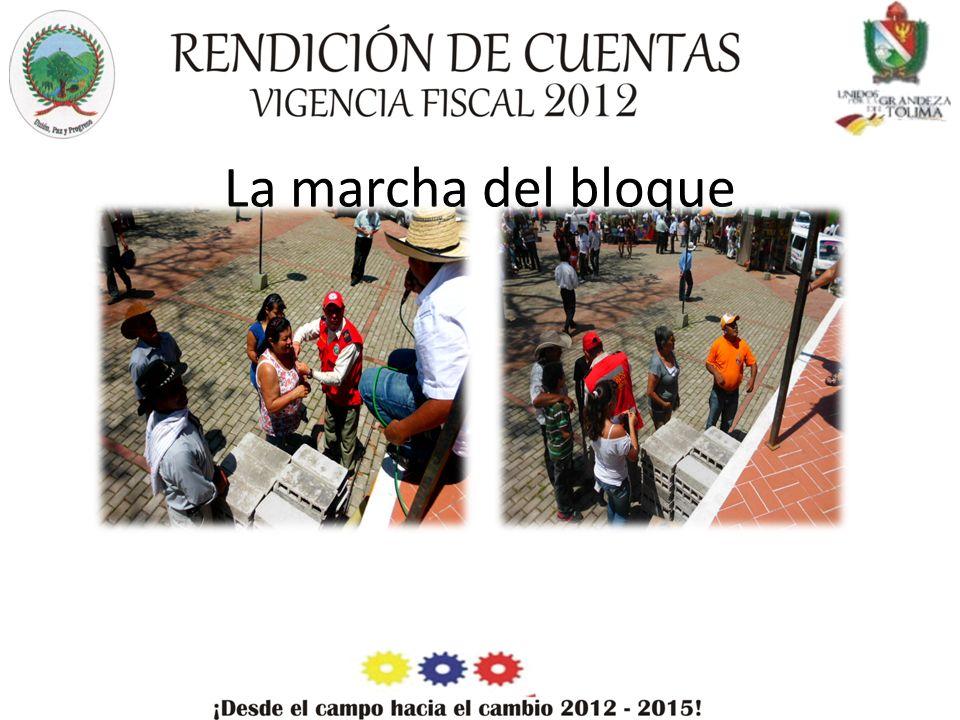La marcha del bloque