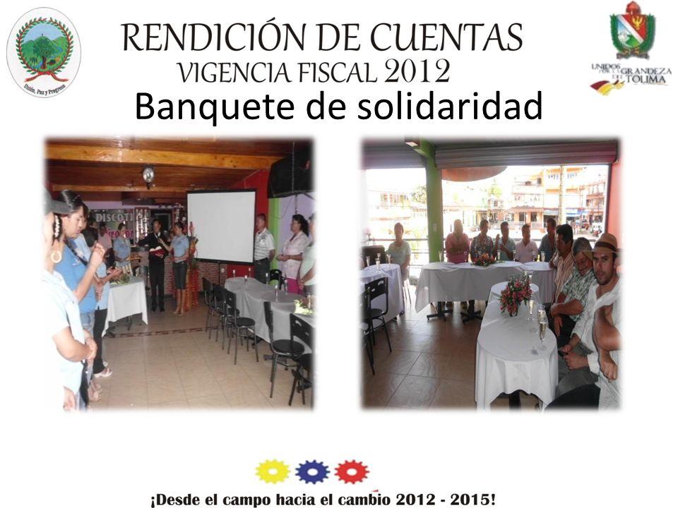 Banquete de solidaridad