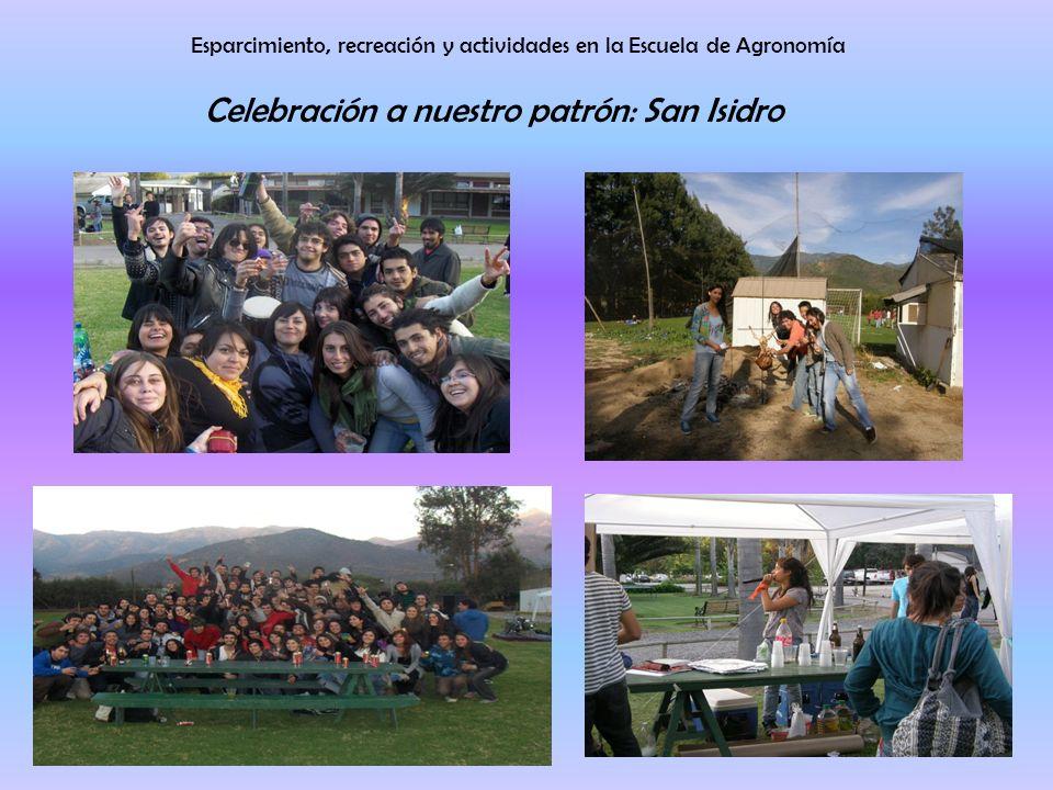 Esparcimiento, recreación y actividades en la Escuela de Agronomía Celebración a nuestro patrón: San Isidro