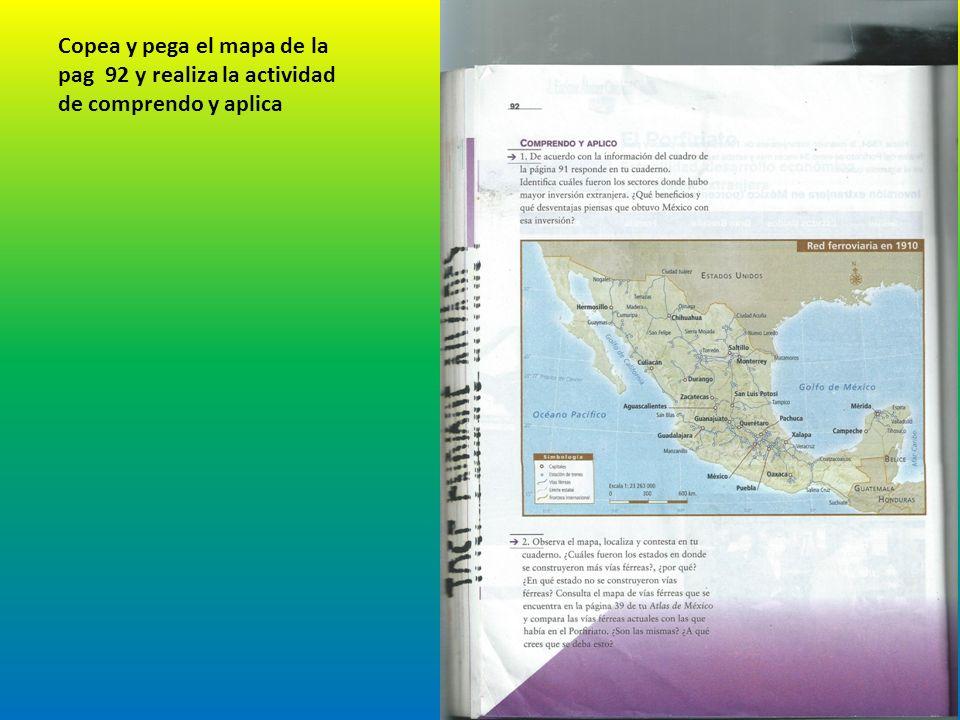 Qué beneficios y que desventajas piensas que obtuvo Mexico con esta inversión? Las ventajas es que la economía crecio favorablemente beneficiando a la