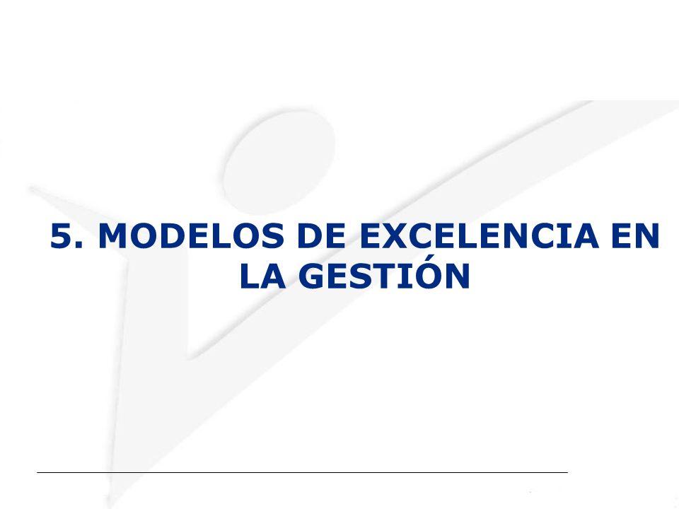 5. MODELOS DE EXCELENCIA EN LA GESTIÓN