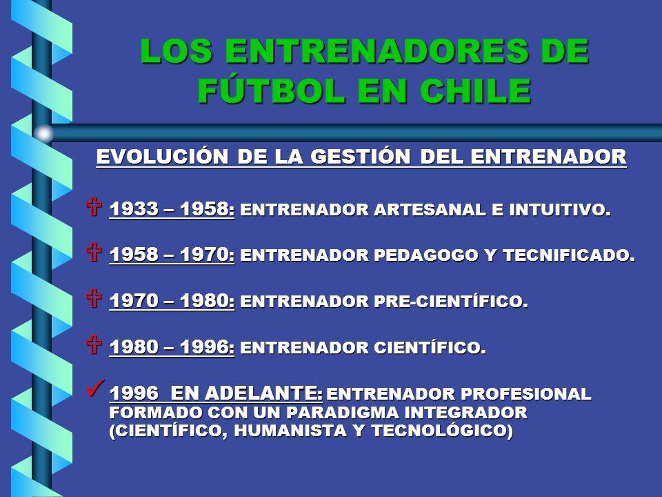 EL ENTRENADOR HISTORIA. HISTORIA.