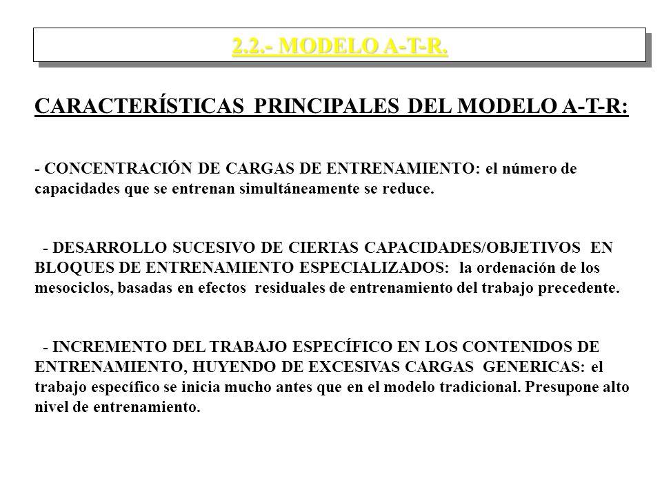 2.2.- MODELO A-T-R.