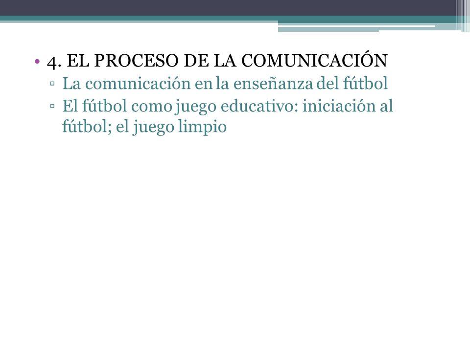 La dirección de equipos de fútbol durante el entrenamiento. La dirección de equipos de fútbol durante la competición. La observación directa y la comu