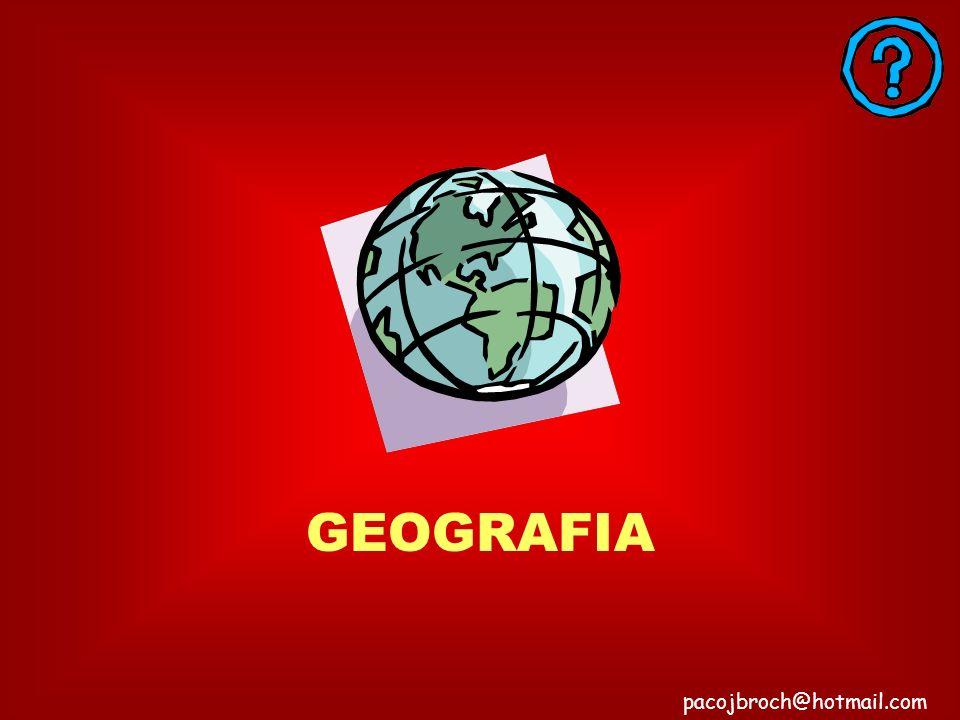 RESPUESTA INCORRECTA SON DEL 75% pacojbroch@hotmail.com SUS CONOCIMIENTOS GENERALES SOBRE MATEMATICAS
