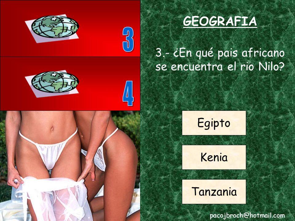 GEOGRAFIA 2.- ¿En qué continente se encuentra Brasil.