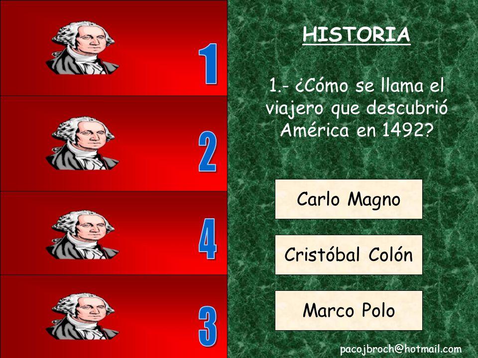 HISTORIA pacojbroch@hotmail.com