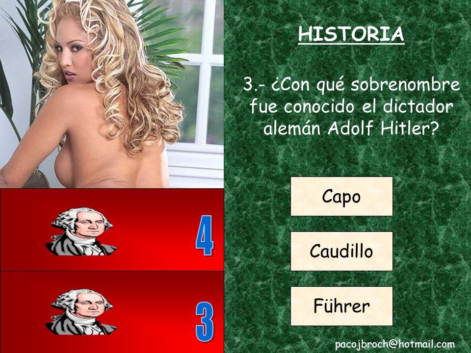HISTORIA 2.- ¿En qué pais europeo tuvo lugar la Batalla de Almansa.