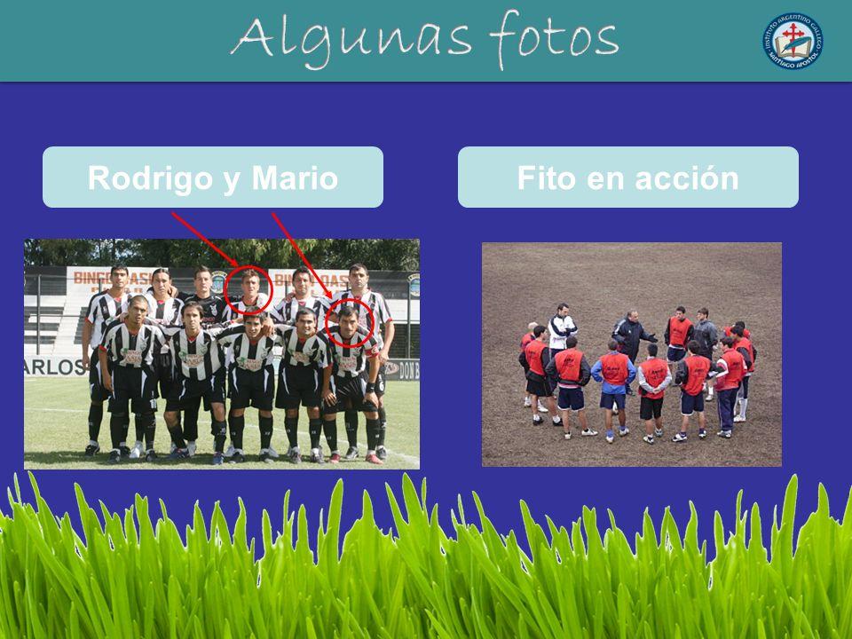 Rodrigo y MarioFito en acción