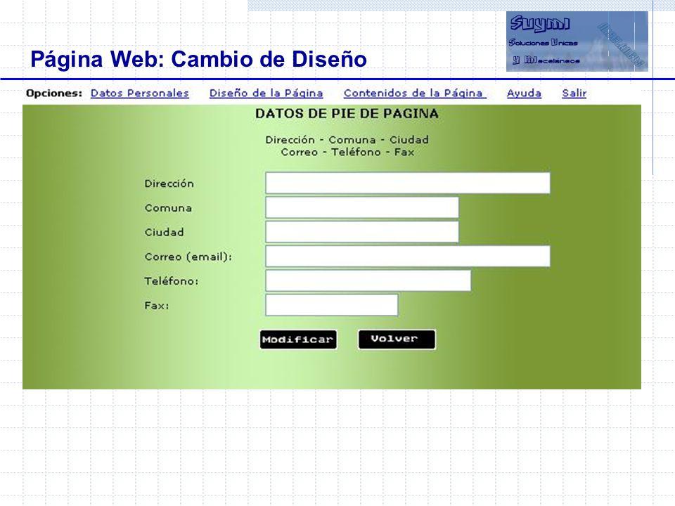 Objetivos Beneficios Página Web: Ejemplos