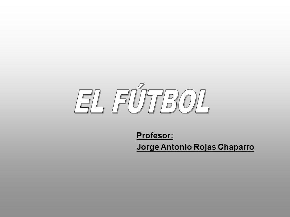 Fútbol, deporte de equipo practicado por dos conjuntos de once jugadores con una pelota.
