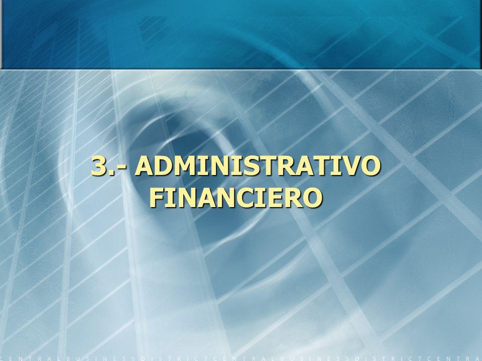 3.- ADMINISTRATIVO FINANCIERO