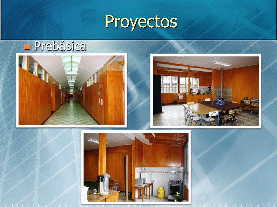 Proyectos Prebásica Prebásica