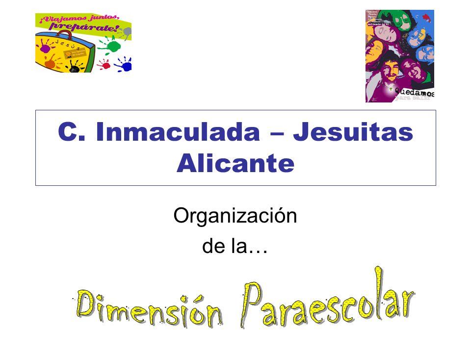 C. Inmaculada – Jesuitas Alicante Organización de la…