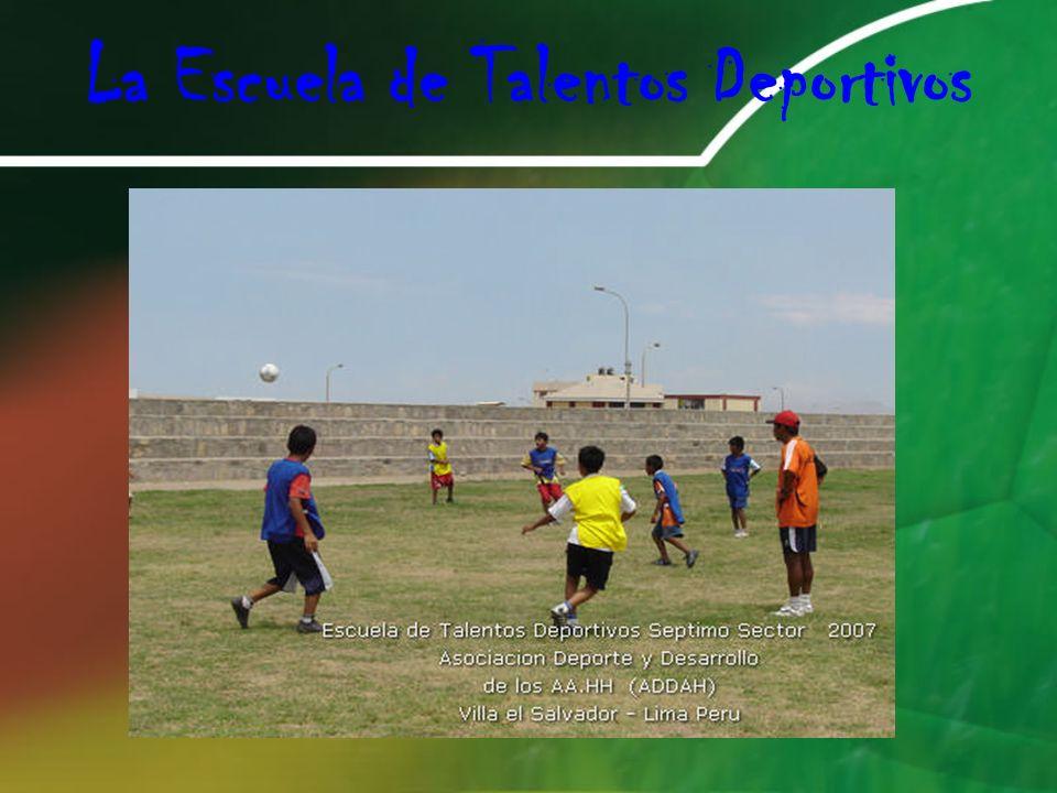 La Escuela de Talentos Deportivos
